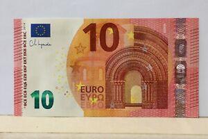 Repubblica Italiana: Banconota da 10 euro numeri palindromi Radar
