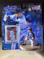 2000 MLB BASEBALL STARTING LINEUP NOMAR GARCIAPARRA BOSTON RED SOX FIGURE & CARD