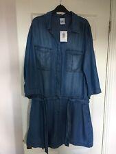 Denim Dress Knee Length Size 18 XL