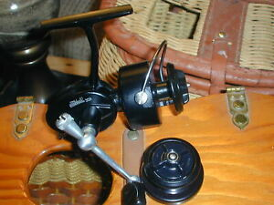 VINTAGE GARCIA MITCHELL 309 ULTRA LITE REEL- TWO SPOOLS - EXCELLENT
