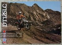 YAMAHA DT125LC Motorcycle Sales Brochure c1983 #LIT-3MC-0107665-83E