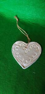 Hanging Ceramic Heart 10cm