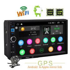 "7"" HD 2Din Android/iPhone Navi WIFI  Car Radio Stereo GPS  MP5 Player Bluetooth"