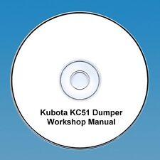 Kubota KC51 Dumper - Workshop Manual.