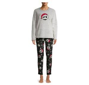 Nightmare before Christmas Pajama Set MEDIUM Sleepshirt Lounge Pants Pajamas NWT