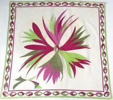 Original Floral 100% Cotton Vintage Scarves & Shawls