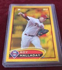 "Roy ""Doc"" Halladay 2012 Topps Gold Sparkle SP # 150, Philadelphia Phillies"