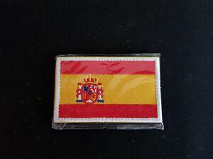 PARCHE BANDERA DE ESPAÑA VELCRO 8 X 5 CM