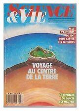SCIENCE ET VIE  839 1987 CENTRE DE LA TERRE