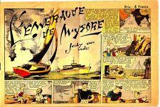 COLLECTION A 8 FRANCS L'EMERAUDE DE MYGORE JACKY AUX INDES DE 1945