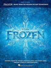 DISNEY FROZEN Motion Picture Soundtrack Easy Piano Learn to Play FILM Music Book