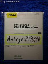 Sony Bedienungsanleitung STR SL5 FM/AM Receiver (#3832)