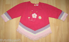 CATIMINI Babymini ♥ Pull rose à franges ♥ Taille 2 ans