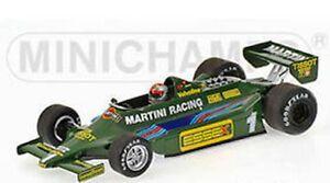 MINICHAMPS 790099 790101 or 800011 LOTUS F1 car Mansell Reuteman Andretti 1:43