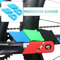 Bicycle Rode Bike Silicone Protective Crank Arm Boot Crankset Crank Protectors