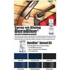 DuraCoat DuraBlue Aerosol finishing kit - MATTE BLACK