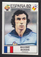 Panini - Espana 82 World Cup - # 281 Maxime Bossis - France