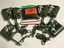 6 - Fps Dp Dog Proof raccoon Traps, 1 Dp setter & 1 Coon Gitter Bait kit