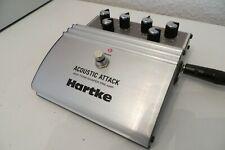 Hartke Acoustic Attack | Gitarren-PreAmp+EQ | Kabel+9V Block | OVP