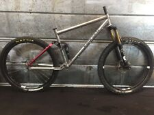 Kent Eriksen Ventana Titanium Full Suspension Mountain Bike Large 27.5 Fox DT