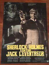 MANIFESTO,Sherlock Holmes contre Jack l'Eventreur,NOTTI DI TERRORE,NEVILLE  J