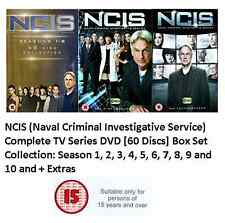 NCIS COMPLETE SERIES 1 - 10 DVD BOX SET COLLECTION SEASON 1 2 3 4 5 6 7 8 9 10