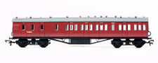 OO Scale Red Model Train Carriages