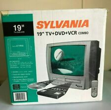 """Sylvania 6719Dg 19"""" Tv Dvd Vcr Combo Crt Gaming w/ Remote Factory Sealed"""