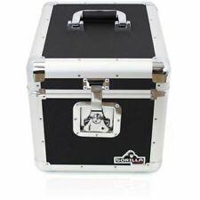 "PD LP100 100 X 12"" Vinyl Record Box Storage Flight Case Black"