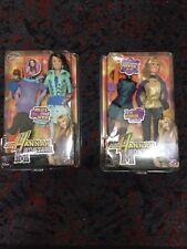 LOT OF 2 NEW IN BOX  2007 Disney Hannah Montana Mattel DOLLS MILEY CYRUS