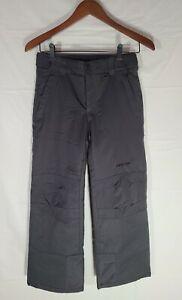 Arctix A6 Unisex Kids Gray Reinforced Knees and Seat Snow Pants Size Medium