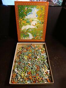 Springbok Jigsaw Puzzle Song of The Unicorn 1960's PZL4143 (544 Pcs)