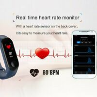 Waterproof Smart Watch Heart Rate Blood Pressure Sleep Monitor Weather IP67