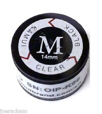 (1) Kamui BLACK CLEAR (MEDIUM = M) Tip  -  FREE US SHIPPING