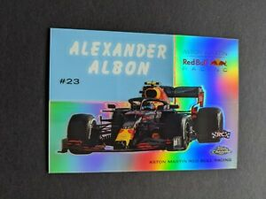 2020 Topps Chrome Formula 1 #54W-4 World on Wheels RC Rookie Alexander Albon