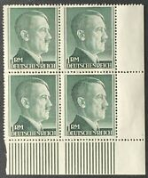 Germany. German Reich. 1RM. Hitler Definitives BLOCK. SG799. 1942. MNH. #SC88