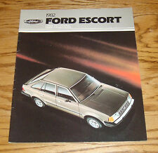 Original 1982 Ford Escort Sales Brochure 82 8/81 GLX GL L GT Wagon