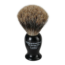 Taylor of Old Bond Street Pure Badger Hair Shaving Brush - Medium Black