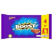 Nouvelle annonce Cadbury Boost Barre de Chocolat Lot de 4 £ 1 136 G