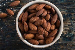 2 kg | Mandeln gesalzen | geröstet | Salz | Mandelkerne | Almonds | Buxtrade