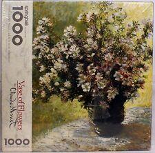 "Monet Vase Of Flowers 24"" x 30"" 1000 Jigsaw Puzzle Springbok Hallmark new sealed"