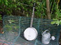 VINTAGE BANJO  BACON SOUND RING PLECTRUM BANJO ONE OF A KIND