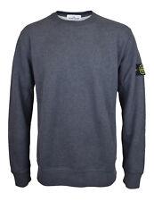 STONE ISLAND grau Rundhals Sweatshirt Neu mit Etikett