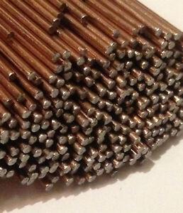50 x Lengths Super6 1.6mm TIG Filler ER 70S 6 Rod Welding Wire A18 copper coated