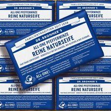 DR. Bronner 'S MAGIC SOAP Menta Piperita 140g Naturkosmetik Fairtrade Bio Vegan