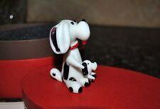 New Fitz & Floyd Glass Menagerie Queenie & Prince Figurine Gift Box Dog Puppy
