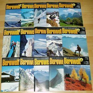 15x Bergwelt alte Zeitschrift Alpin Winter Bergkamerad Alpen 1983 1984 1985 Wand