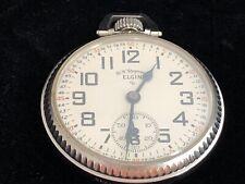 Elgin B W Raymond 21J,16S, Grade 571 Pocket Watch.