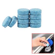 10Pcs Coche Parabrisas Arandela limpieza sólido comprimido efervescente Accesorios Azul