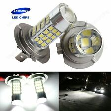 2x H7 SAMSUNG 45W LED Xenon White 499 Headlight Fog Light Daytime Running Lamp